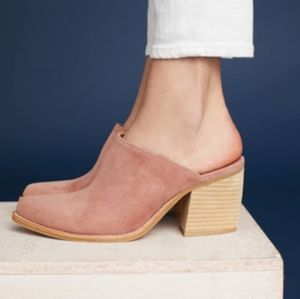 Jeffrey Campbell Favela 2 Suede Mules 9.5
